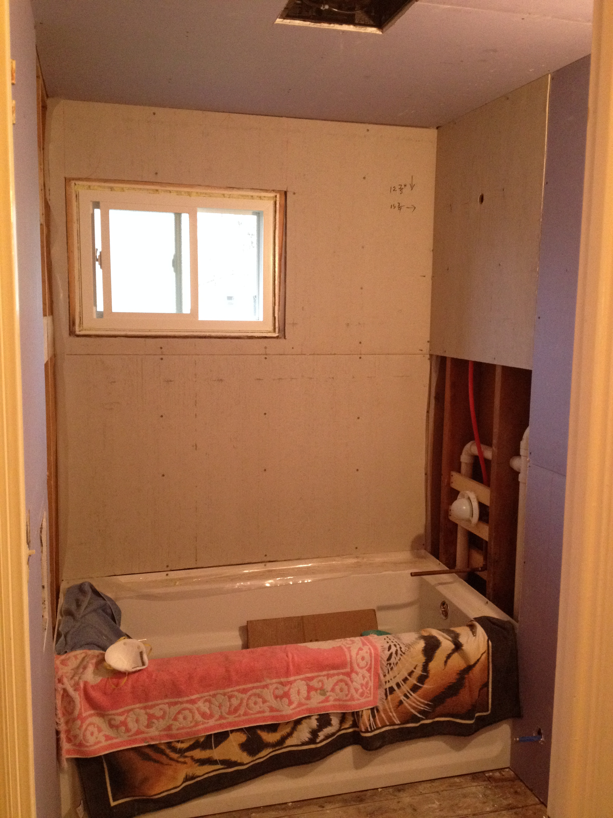 How to Install Shower/Floor Hardie Board – haus2home