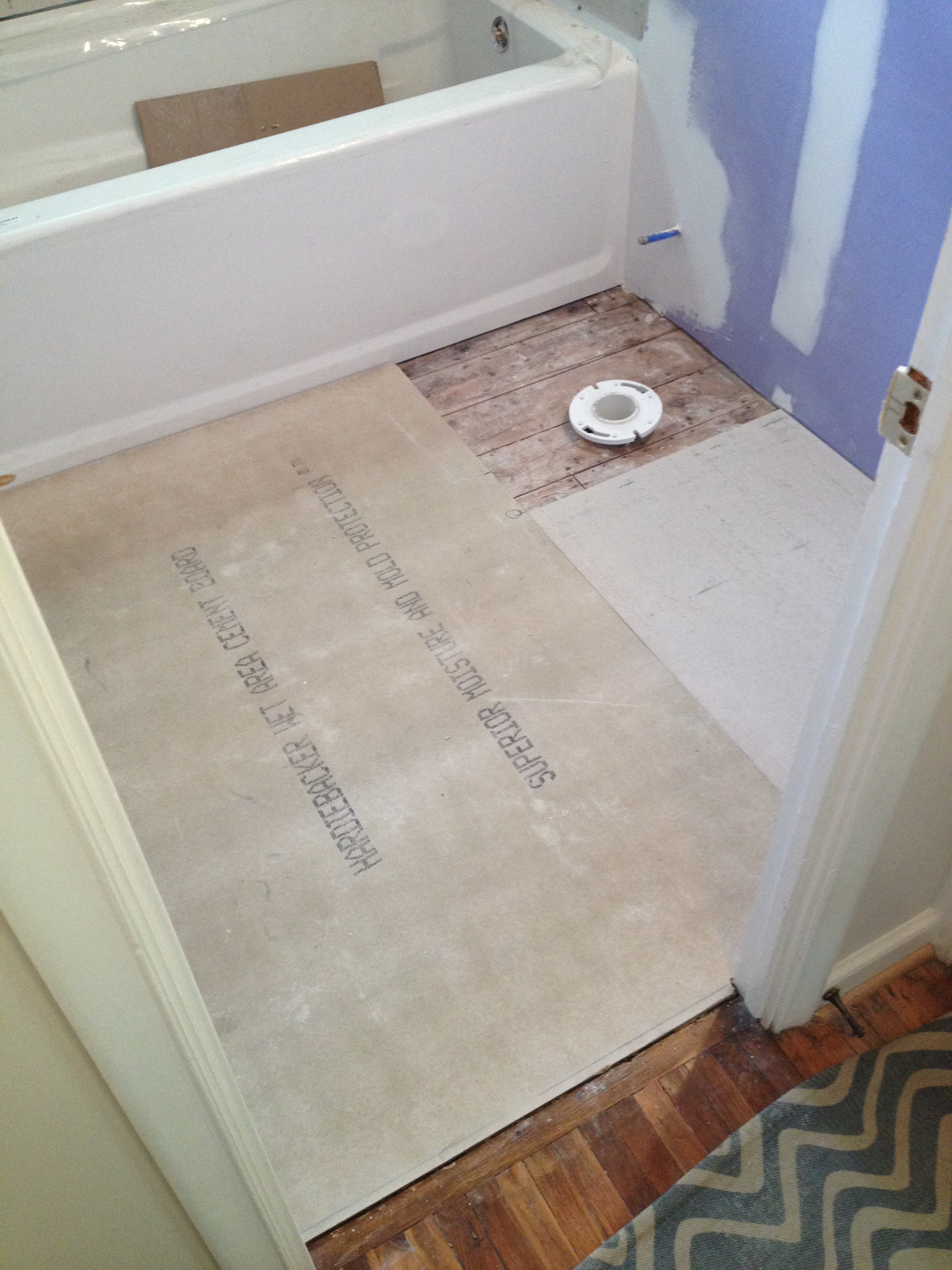 How To Install ShowerFloor Hardie Board Haushome - Cement based backer board