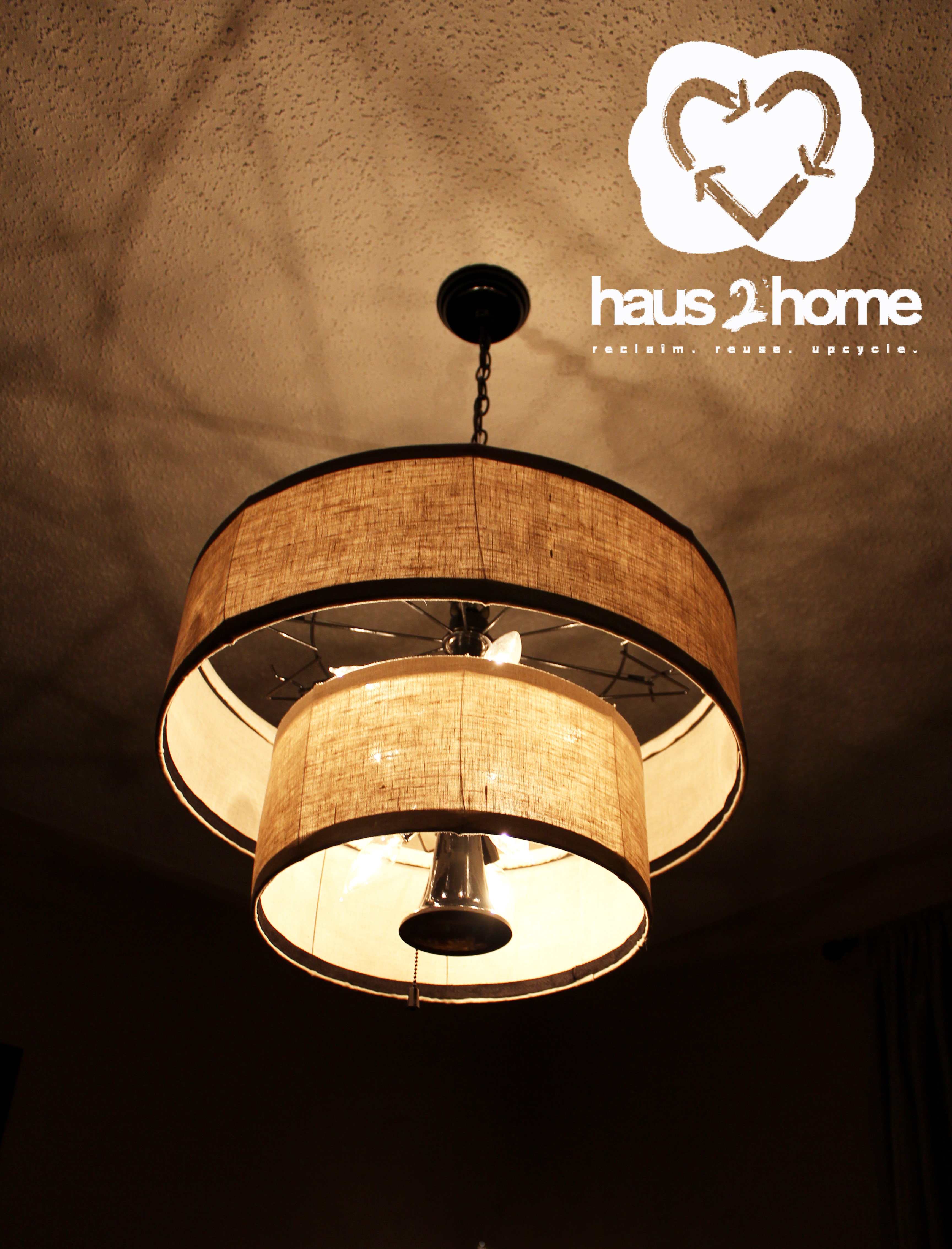 online store 84583 f6088 Upcycled Chandelier | haus2home