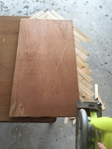 how to make DIY wood wall decor