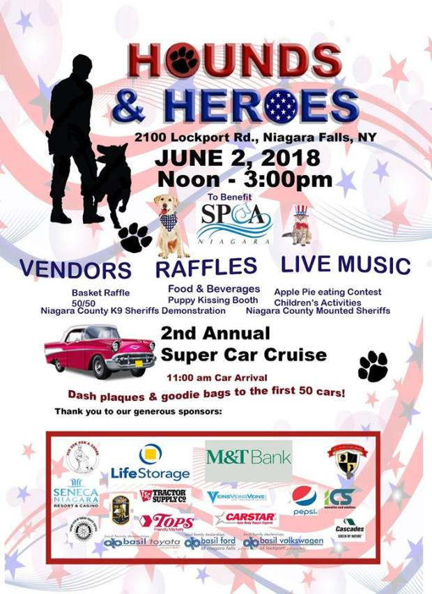 Niagara County SPCA event
